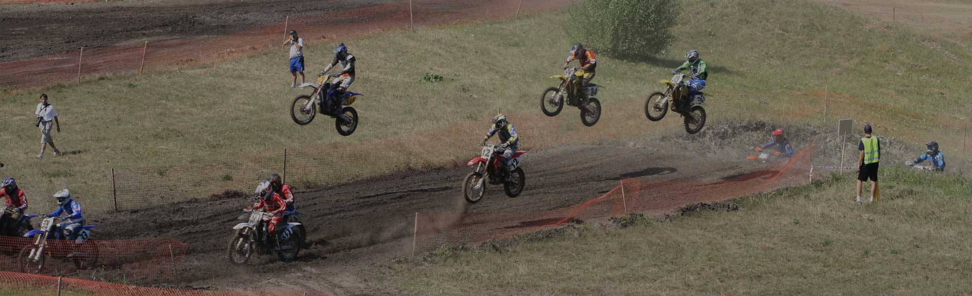 motocross bike race